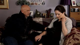 Coronation Street spoilers Killer Pat Phelan holds back his rage after discovering daughter