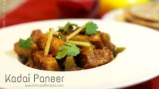 Kadai Paneer Recipe - Inhouserecipes Hindi With English Subtitles