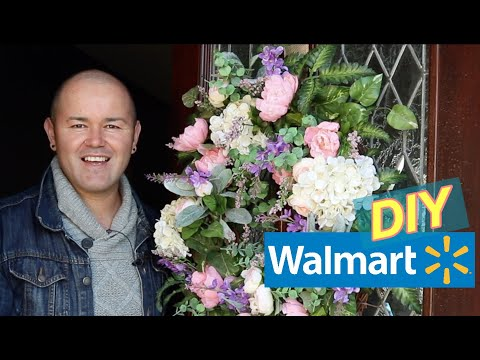 Making A Wreath For Front Door (small Door Floral Wreath Ideas ) 2020