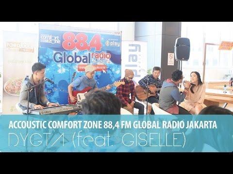 DYGTA - CINTA RAHASIA (feat. GISELLE) - ACCOUSTIC COMFORT ZONE GLOBAL RADIO JAKARTA