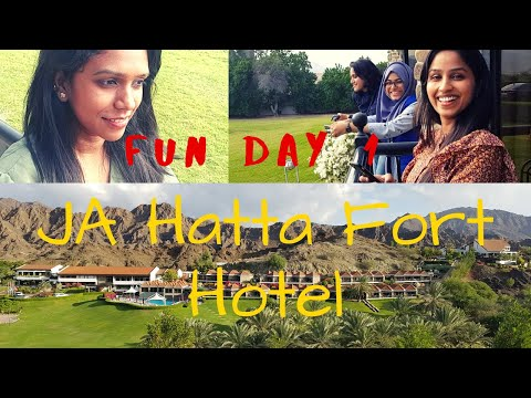 A FUN DAY & NIGHT WITH FRIENDS @ JA HATTA FORT HOTEL | PART 1