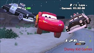 Disney Pixar Lightning McQueen Cars Movie Game  16   Sheriff's Chase