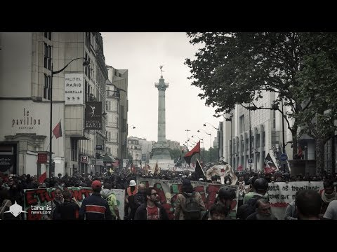 PARIS 22/5/2018 • MANIFESTATION UNITAIRE REPUBLIQUE / NATION