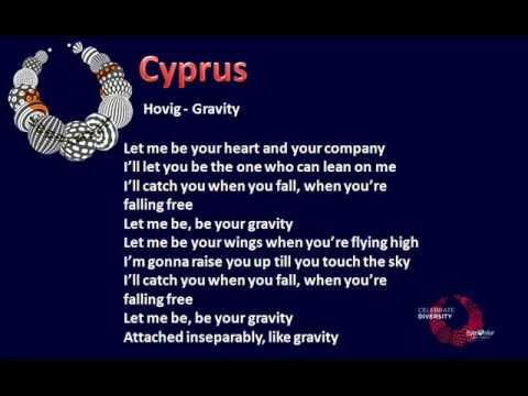 Hovig - Gravity (Cyprus) Eurovision 2017 - Instrumental - YouTube