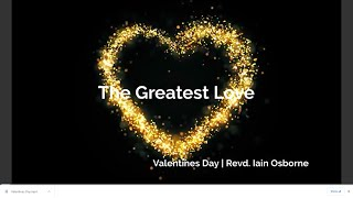 Valentines Day | Revd. Iain Osborne