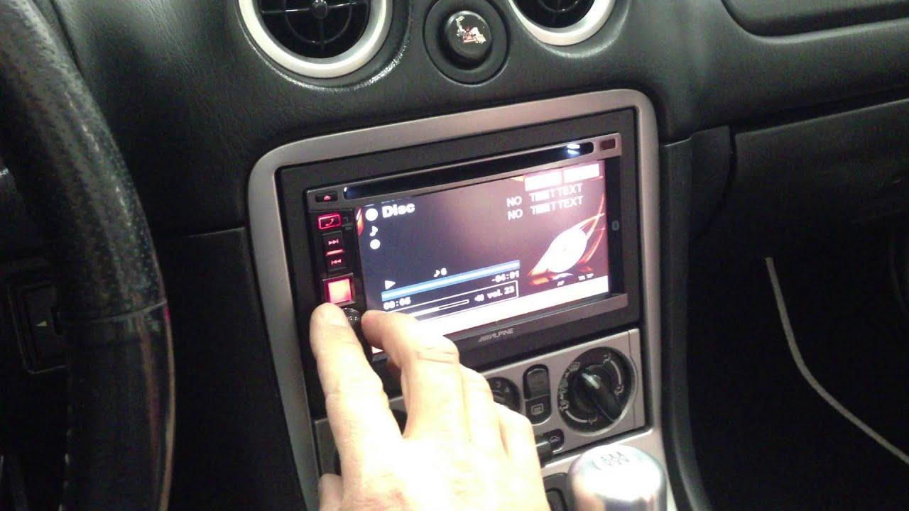 Android Auto Mazda >> Mazda MX5 monitor 2 din + sound system - YouTube