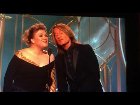 Keith Urban & Kelly Clarkson Present Original Song Golden Globes
