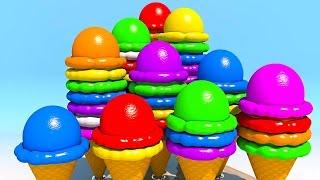 Мороженое. Развивающие мультики и обучающие видео обзоры детских игрушек