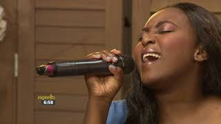 Dindy performs 'Beautiful Day'
