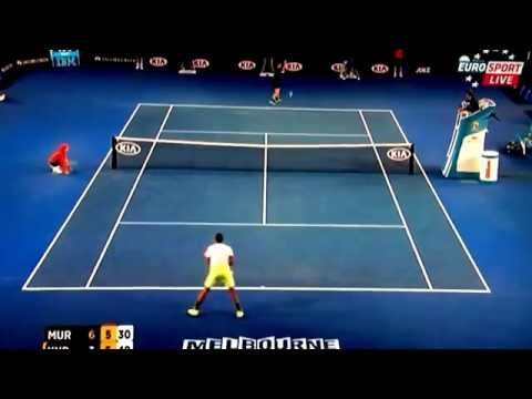 Has anyone seen a better forehand soft drop shot than this?