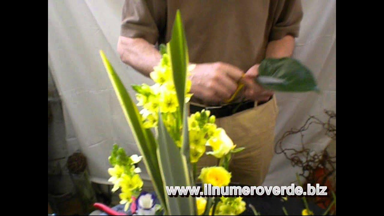Ben noto 1x12 Come impostare centrotavola con fiori - Corso di composizioni  UO88
