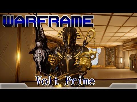 Warframe戰甲神兵-Volt Prime