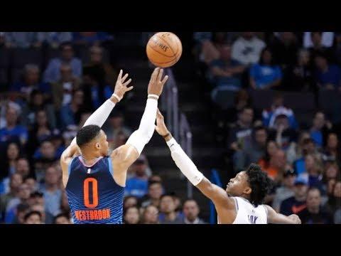 Russell Westbrook Returns 32 Pts! Shumpert 26 Pts! Kings vs Thunder 2018-19 Season
