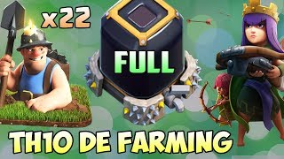 Town Hall 10 (TH10) Dark Elixir Farming Attack Strategy 2018 | Queen Walk + Miners | Clash of Clans