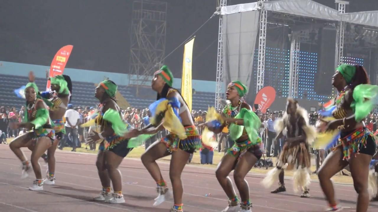 Download South African Zulu dancers blowing the spectators minds @ Carnival Calabar 2016