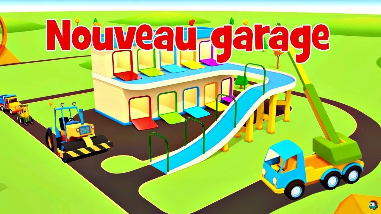 dessin anim pour enfants de v hicules d 39 assistance 13 nouveau garage youtube. Black Bedroom Furniture Sets. Home Design Ideas