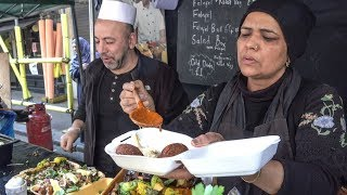 The King of Falafel from Syria. London Street Food