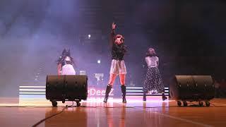 "181229 J☆Dee'Z (ジェイディーズ) ""Jewel"" 初披露 at Wリーグオールスター2018 ハーフタイムショー"