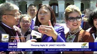 SBTN MORNING: TNS Janet Nguyễn & Đồng hương điều trần trước Thượng Viện về dự luật SB 895