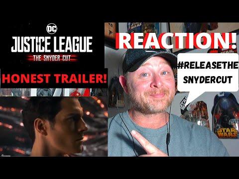 Honest Trailers   Justice League Release The Snyder Cut Reaction