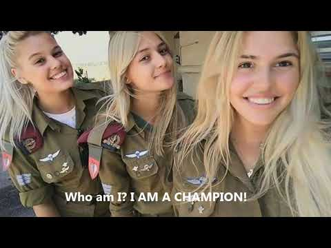 Israel  IDF Girls Military Motivation 2 CHAMPION!
