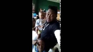 VIDEO: Exnel 'Aba First Son' visits Motherless Babies Home, Donates Money, Provisions