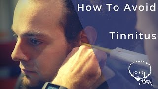 how to avoid tinnitus