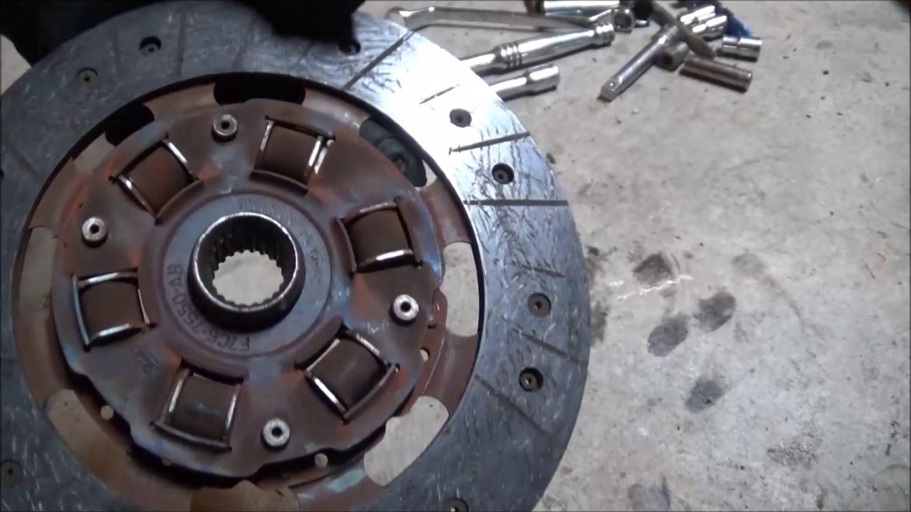 zx2 transmission and clutch removal, stage 1 clutch from amazon