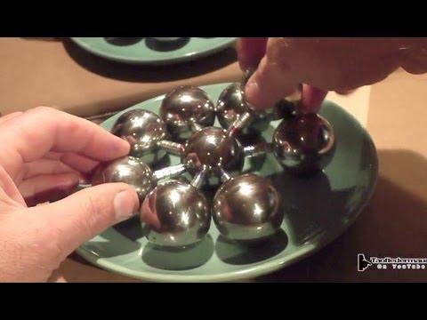 Giant Magnet Bearing Fidget Spinner Demonstration
