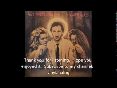 Pete Townshend Empty Glass Full album vinyl LP