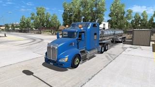 American Truck Simulator - Water from Fresno to Sacramento