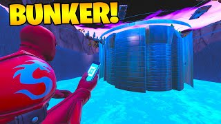 VISIT WITH CREATIVE MODE the NEW BUNKER OF BALSA BUTTON!! FORTNITE 🌊😱