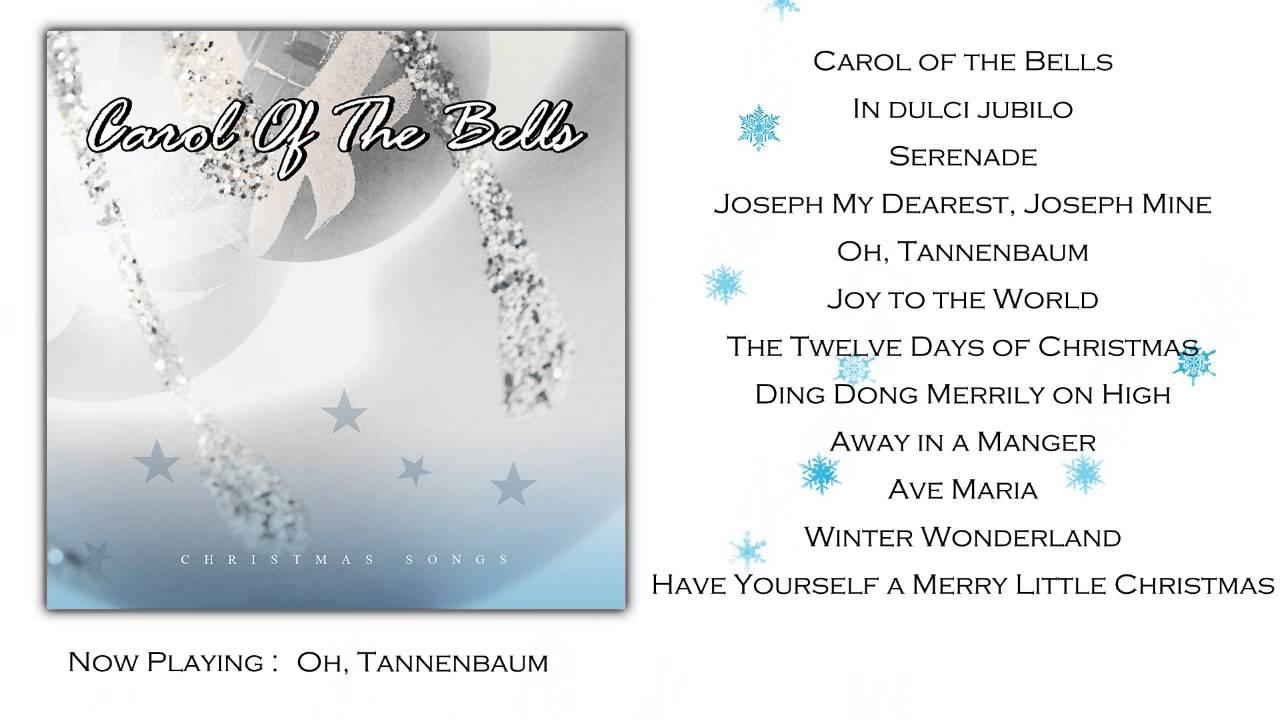 Carol of the Bells ~ Christmas songs (Full Album) - YouTube