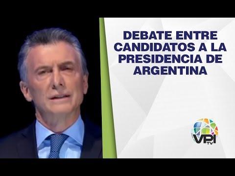 EN VIVO - Debate entre Candidatos a la presidencia de Argentina