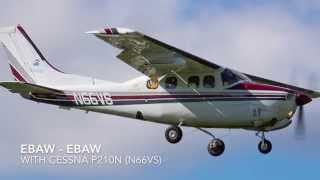 Flight with N66VS (Cessna P210N)