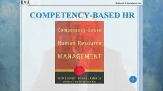 William Rothwell, Ph.D. - Competency Based HRM
