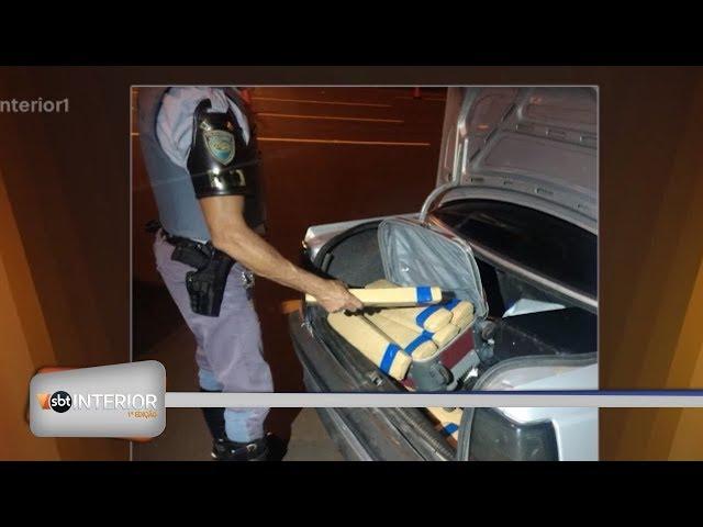 Homem é preso com mais de 95 quilos de maconha na região