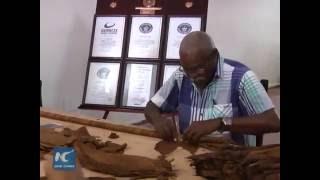 Lập kỷ lục điếu xì gà Cuba lớn nhất thế giới