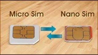 Transformar Micro Chip em Nano  FÁCIL