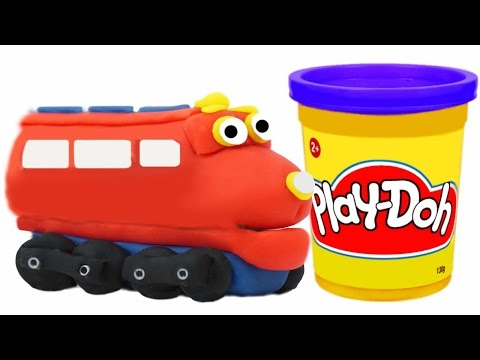 Thumbnail: Play Doh Train Wilson We Make from Playdough Chuggington Toys Trains for Children