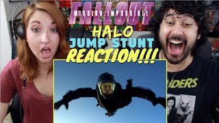 MISSION: IMPOSSIBLE - Fallout - HALO JUMP STUNT Behind The Scenes - REACTION!!!