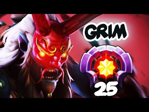 FIRST LEVEL 25 GRIMSTROKE DOTA PLUS MASTER TIER - Dota 2 Epic Gameplay Compilation thumbnail