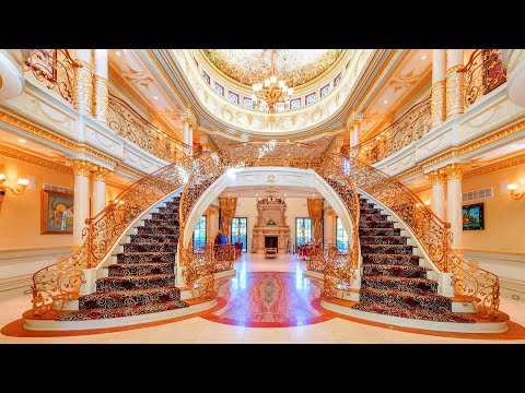 Inside a European Inspired Mega Mansion in New Jersey