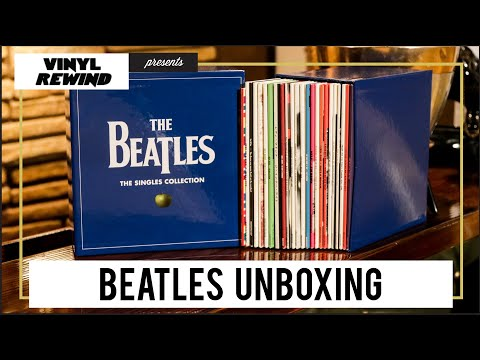 The Beatles Singles Collection unboxing | Vinyl Rewind