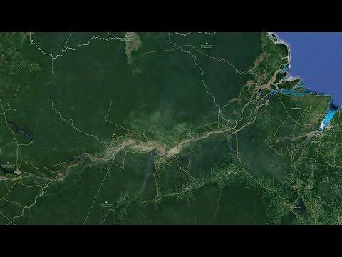 O passado remoto de um grande rio