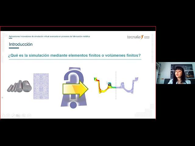 Aplicaciones innovadoras de simulación virtual avanzada en procesos de fabricación metálica