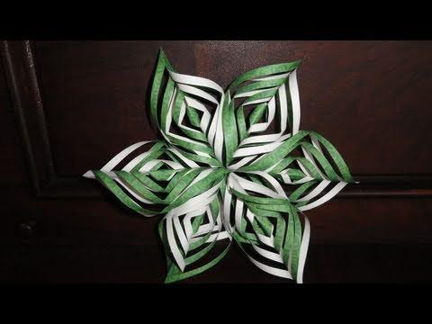 Lacy Paper Snowflake Decoration