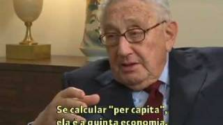 Henry Kissinger fala sobre a China - Globo News Milênio - Parte 1