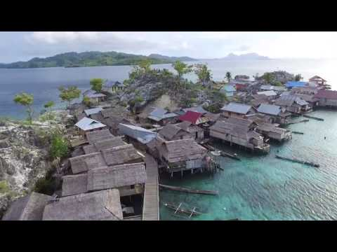 Togian Islands Drone Video, Sulawesi, Indonesia (DJI & GoPro)
