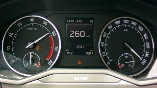 New Skoda Superb 2015 2,0 Tsi 4x4 - Acceleration 0-260 Km/H And More Dynamic Tests
